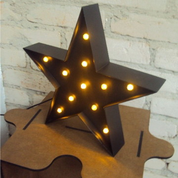 Luminária Estrela - Led