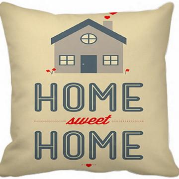 Capa Almofada Home Sweet Home