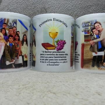 Caneca porcelana Primeira Eucaristia