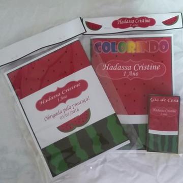 Kit de Colorir Melancia