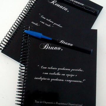Caderno Corporativo Personalizado