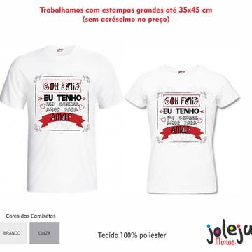 Kit de Camisetas Dia dos Namorados