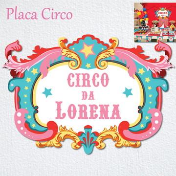 CIRCO Placa Painel de Parede FESTA