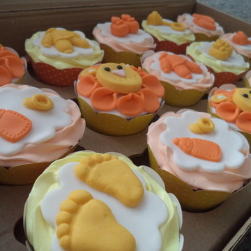 Cupcakes - Leãozinho (Chá de Bebê)
