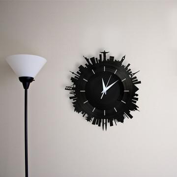 Mundo - Relógio de Parede