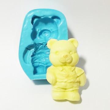 Ursinho Bermuda - molde de silicone