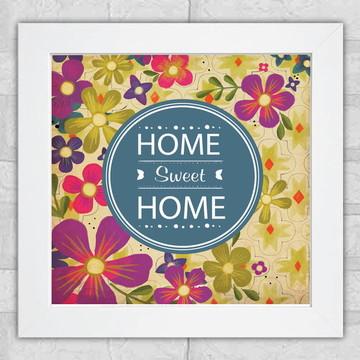 """Quadro """"Home sweet home"""""""