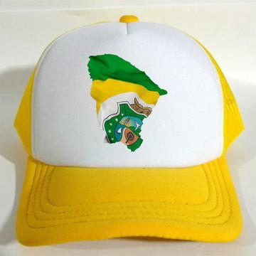 Boné Trucker Bandeira Ceará CE
