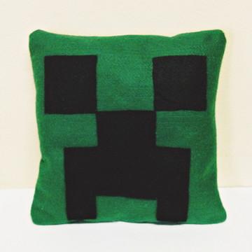 Almofada Decorada Minecraft feltro