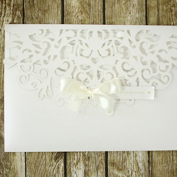 Convite de Casamento Classico