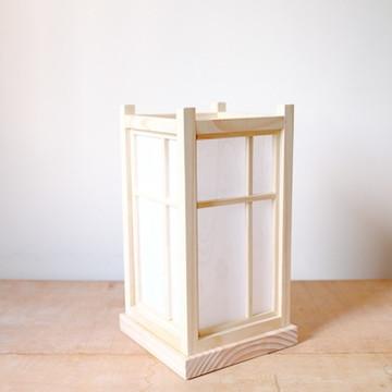Luminária estilo Japonesa c/ Papel Japonês: madeira