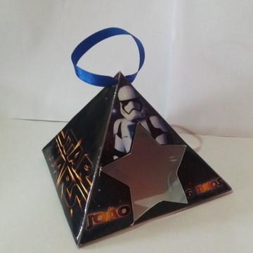 caixa para guloseimas piramide star wars