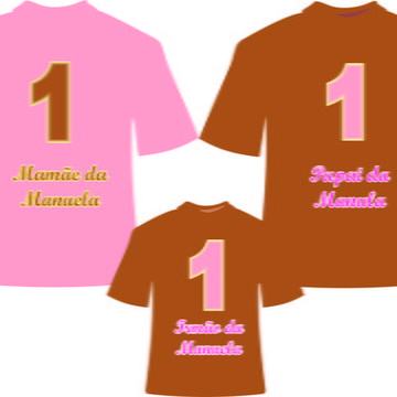 Camisetas Personalizadas para Aniversario Urso Marrom