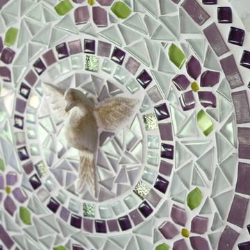 Mandala Divino Espírito Santo Lilás 30