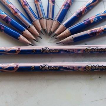 Lápis Personalizado - Rapunzel/Enrolados