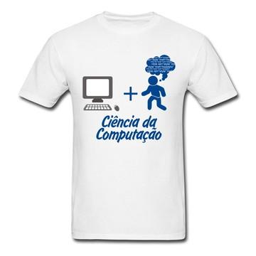 Camiseta Ciência da Computação