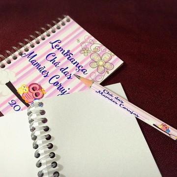 Caderninho com lápis Dia Das Mães