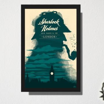 Quadro Sherlock Holmes