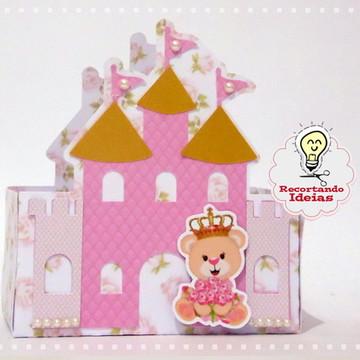 Caixa Castelo Ursa Princesa