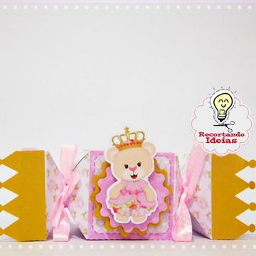 Caixa Bala Ursa Princesa
