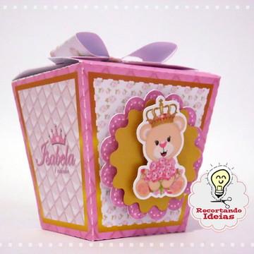 Caixa Sushi Ursa Princesa