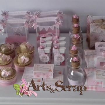 Kit Festa Arraiá Shabby Chic