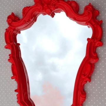 Espelhos Veneziano Vermelho Royal