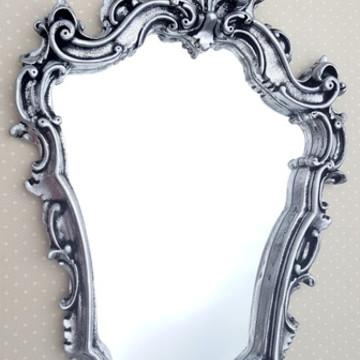Espelhos Veneziano Prata Velha