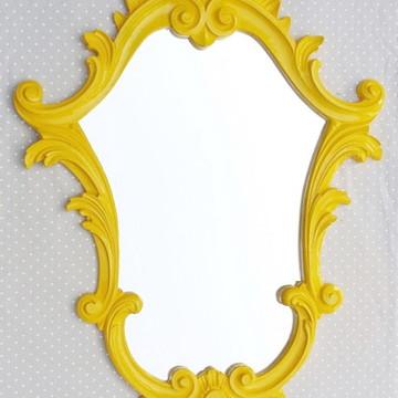 Espelhos Veneziano Amarelo