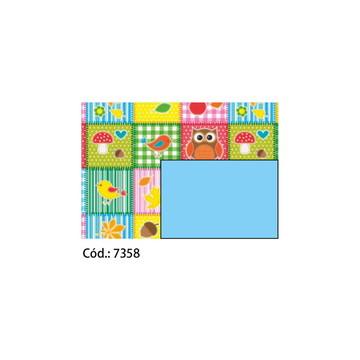 Papel Cartão 250g c/10FLS 65x47 #7358