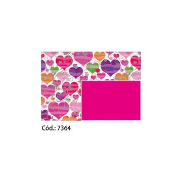 Papel Cartão 250g c/10FLS 65x47 #7364