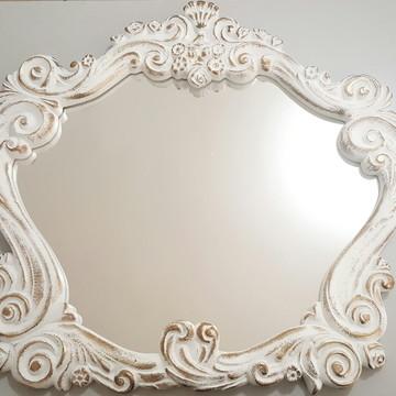 Espelhos Veneziano Barrok Ouro Provençal
