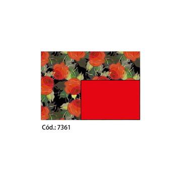 Papel Cartão 250g c/10FLS 65x47 #7361