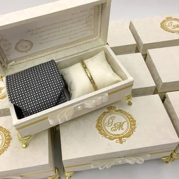 Caixa Personalizada Padrinhos Casamento