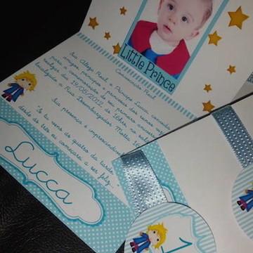Convite O Pequeno Príncipe Com Foto