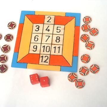 Jogo dos Doze - 18 x 18 - Jogos Educativos - 6 a 9 anos