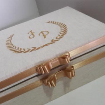 Caixa Luxo Brasão