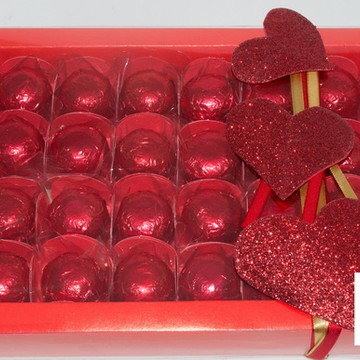 Bombons de cereja- caixa de presente