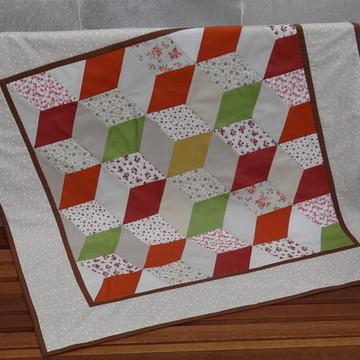 Toalha de mesa cubos coloridos