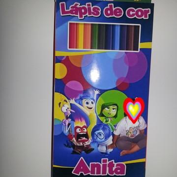 Lápis de cor Divertida Mente