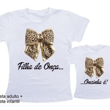 Camiseta Filha de Onça