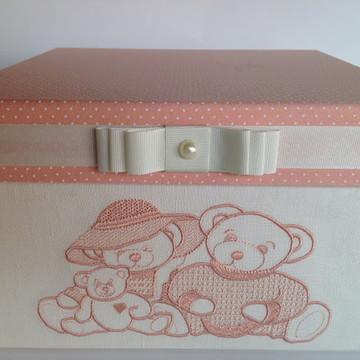 """Caixa decoração para quarto Menina """"Pronta entrega"""""""