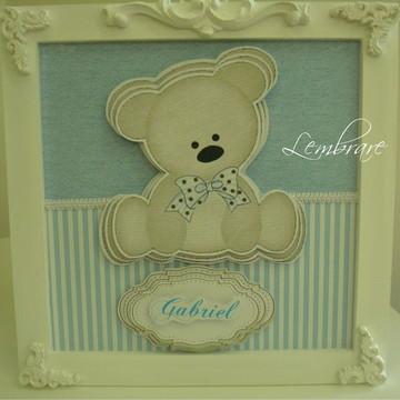 Enfeite de Porta Maternidade Urso Novo