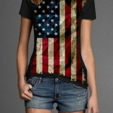 Camiseta Estados Unidos Feminina