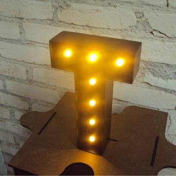 Luminária Letras - Mod. 01b
