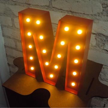 Luminária Letras - Mod. 03