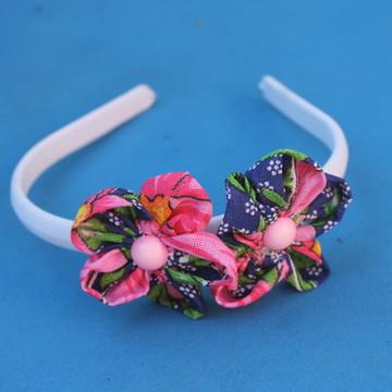 Tiara de Flor de chita