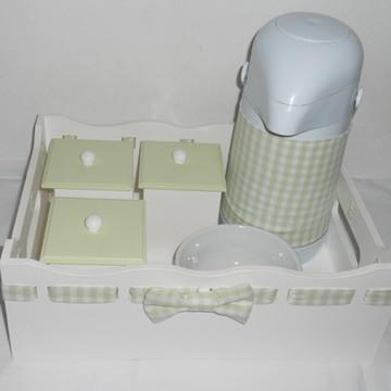 Kit higiene verde bebê
