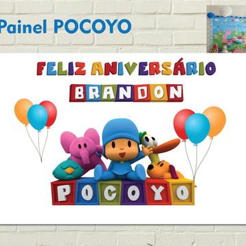 Festa Painel Parede POCOYO impresso