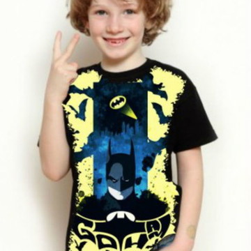 Camisa Batman Cav.das Trevas Infantil